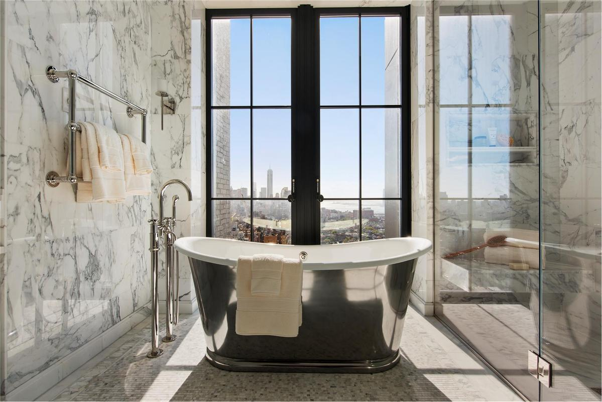 Streeteasy walker tower at 212 west 18th street in for Bathroom designs york
