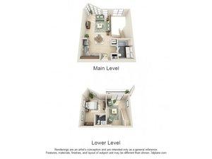 floorplan for 111 Kent Avenue #1E