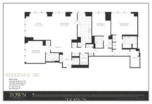 floorplan for 845 United Nations Plaza #76C
