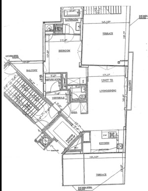 floorplan for 268 Wythe Avenue #PHA