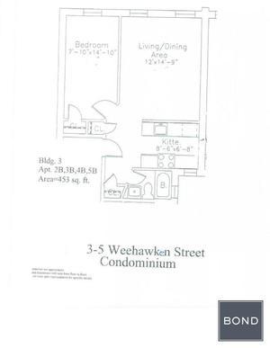 3 Weehawken Street #4B