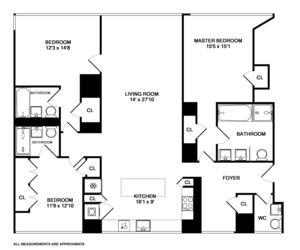 floorplan for 8 River Terrace