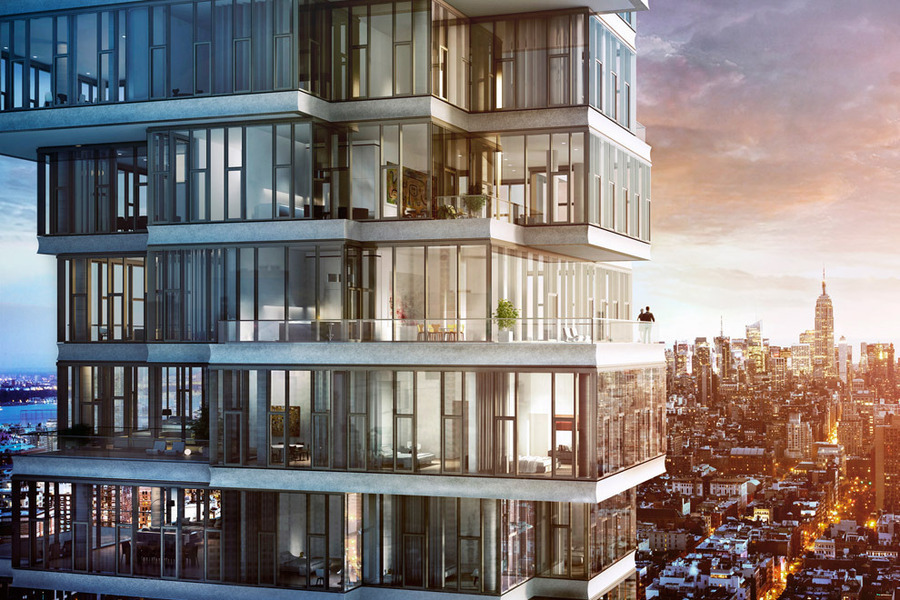 56 leonard at 56 leonard st in tribeca sales rentals for Nyc luxury condos for sale