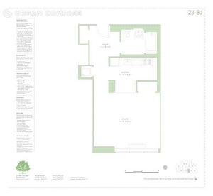 floorplan for 303 E 33rd Street #8J