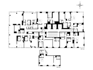floorplan for 2 River Terrace 26TH-FLOOR--25C