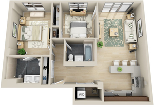 floorplan for 111 Kent Avenue