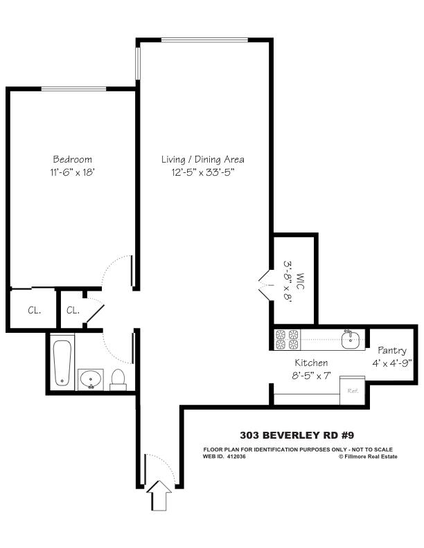 Apartment / Flat / Unit | 303 Beverly Road #9N, New York, NY 10