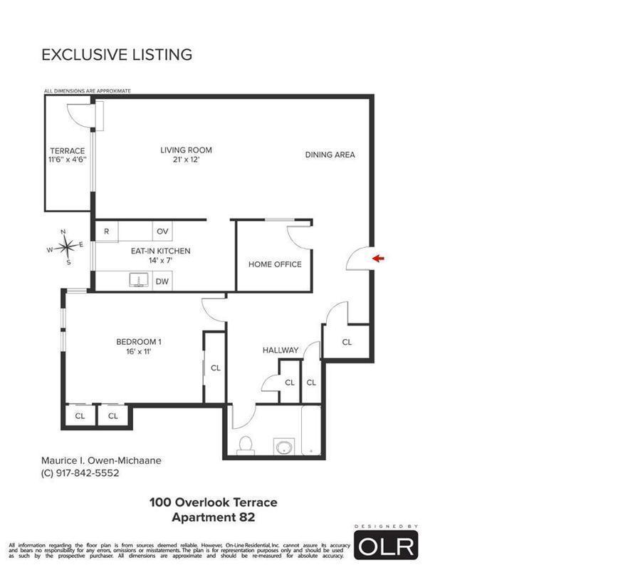 Streeteasy 100 overlook terrace in hudson heights 82 for 100 overlook terrace