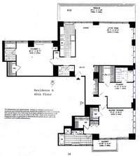floorplan for 422 East 72nd Street #40A