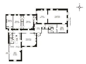 floorplan for 1 West 72nd Street #66