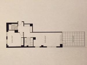 floorplan for 50 Murray Street #721