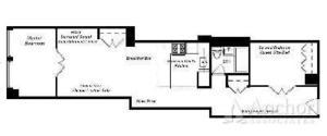 floorplan for 270 Park Avenue South #8C