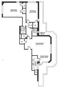 floorplan for 30 Park Avenue #PHB