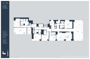 floorplan for 157 West 57th Street #52B