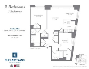 floorplan for 227 West 77th Street #14J