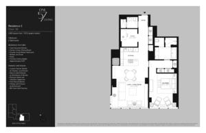 floorplan for 157 West 57th Street #38E