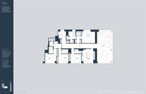 floorplan for 157 West 57th Street #56C