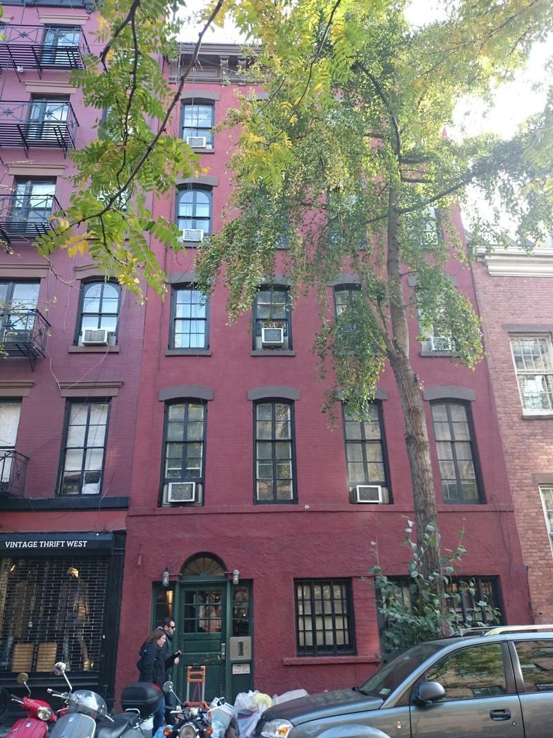 244 west 10 street in west village manhattan naked for Manhattan west village apartments