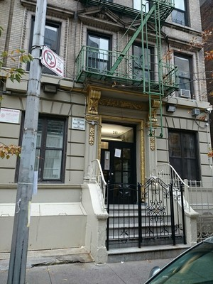 203 West 109th Street in Manhattan Valley