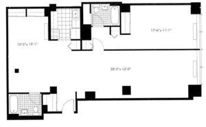 floorplan for 50 Murray Street #0009