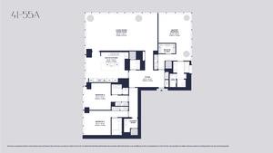 floorplan for 157 West 57th Street #43A