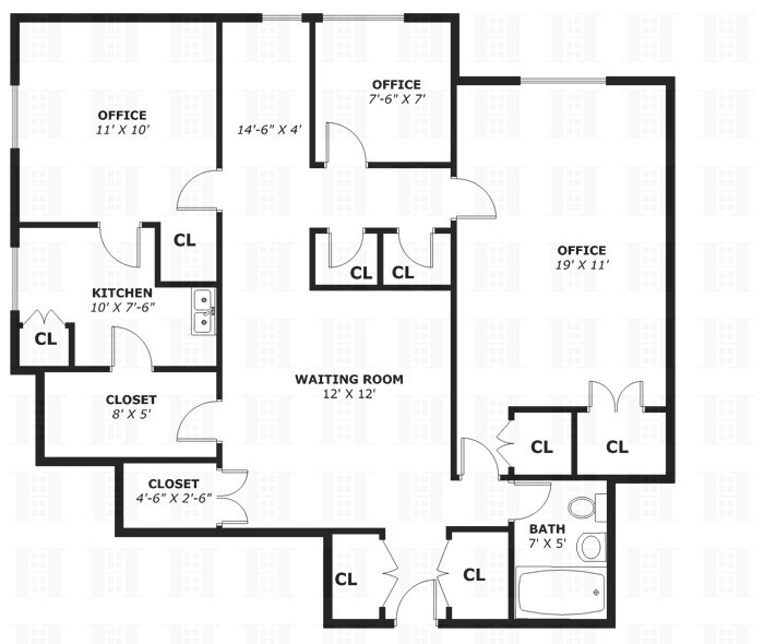 8510601 2954 Grand Concourse 1j on Studio Apartment Floor Plans