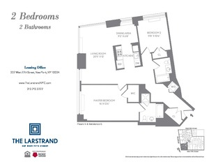 floorplan for 227 West 77th Street #4G