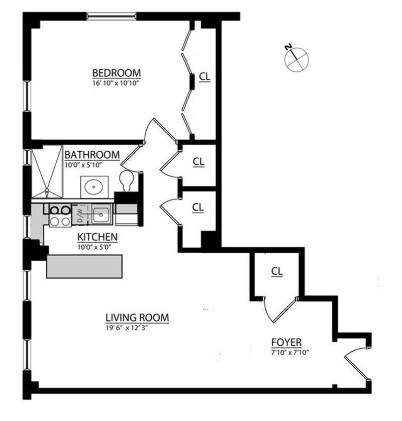 StreetEasy: 136 Waverly Place In West Village, #10D