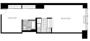floorplan for 50 Murray Street #1315