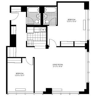 floorplan for 50 Murray Street #0018