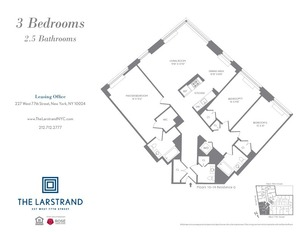 floorplan for 227 West 77th Street , #10G