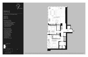 floorplan for 157 West 57th Street #38B