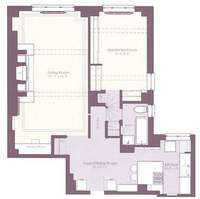 floorplan for 235 East 22nd Street #6F