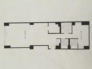 floorplan for 50 Murray Street #814