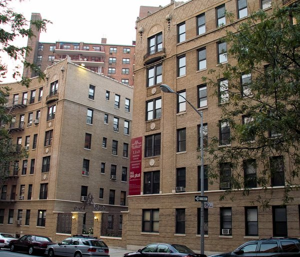 The Crillon Court at 779 Riverside Drive in Washington Heights