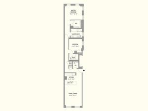floorplan for 55 West 17th Street #501