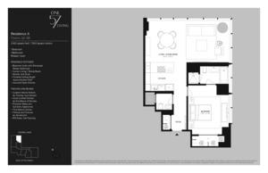 floorplan for 157 West 57th Street #38A