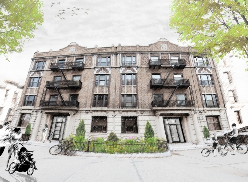 The parkside condominiums at 35 clarkson ave in prospect lefferts gardens sales rentals for Prospect park lefferts gardens