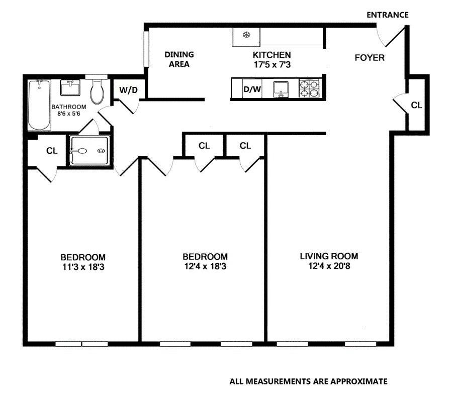 Floor Plan 73 Monroe Street Floor Plan 73 Monroe Street