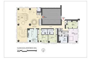 floorplan for 157 West 57th Street #59A